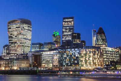 England, London, City Skyline by Steve Vidler