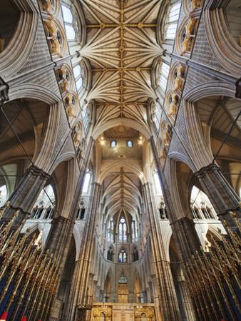 England, London, Westminster, Westminster Abbey, Interior View by Steve Vidler