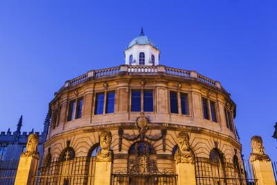 England, Oxfordshire, Oxford, Sheldonian Theatre by Steve Vidler