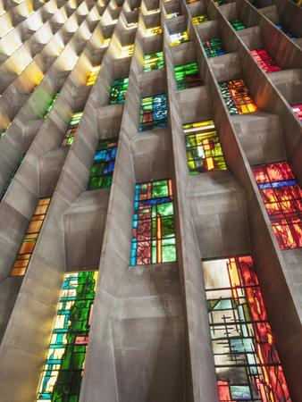 England, Warwickshire, Coventry, New Coventry Cathedral by Steve Vidler