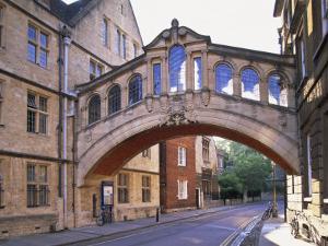 Hertford College, Oxford, Oxfordshire, England by Steve Vidler