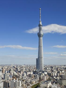 Japan, Honshu, Kanto, Tokyo, Asakusa, Skytree Tower by Steve Vidler