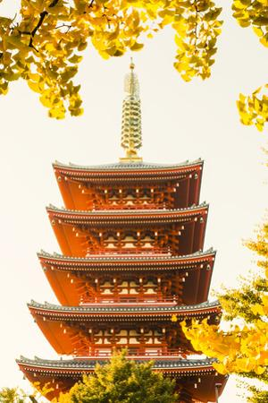 Japan, Honshu, Tokyo, Asakusa,  Sensoji Temple aka Asakusa Kannon Temple by Steve Vidler