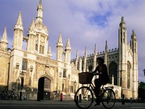 King's College, Cambridge, East Anglia, England by Steve Vidler