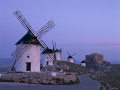 La Mancha, Windmills, Consuegra, Castilla-La Mancha, Spain by Steve Vidler