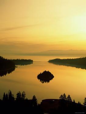 Lake Tahoe at Dawn, Tahoe, Nevada, USA by Steve Vidler