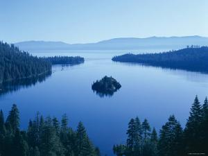 Lake Tahoe, Emerald Bay, Dawn , Tahoe, California, USA by Steve Vidler