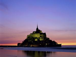 Mont St. Michel, Normandy, France by Steve Vidler
