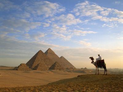 Pyramids, Giza, Egypt by Steve Vidler