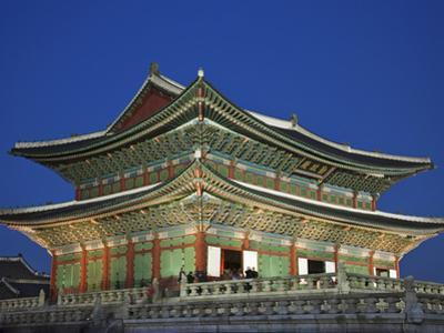 South Korea, Seoul, Gyeongbokgung Palace, Geunjeongjeon Throne Hall by Steve Vidler