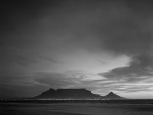 Table Mountain, Sunset, Cape Town, South Africa by Steve Vidler