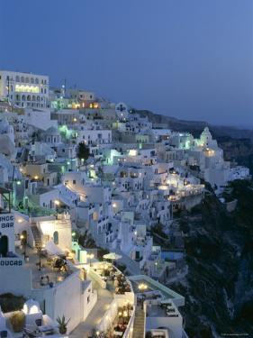 Thira, Santorini , Cyclades Islands, Greece by Steve Vidler