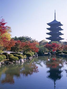 Toji Temple, Kyoto, Japan by Steve Vidler