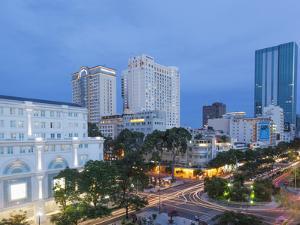 Vietnam, Ho Chi Minh City, City Skyline by Steve Vidler