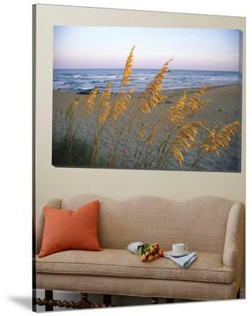 Beach Scene with Sea Oats by Steve Winter