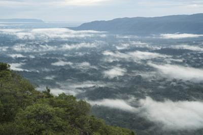 Clouds above Colombia's Chiribiquete National Park. by Steve Winter