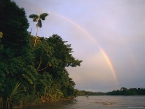 Rainbow over a South American River by Steve Winter