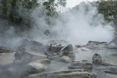 The Boiling River, once avoided by locals because of deadly jaguars by Steve Winter