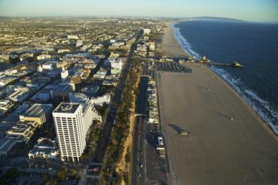 The Coastline of Santa Monica by Steve Winter