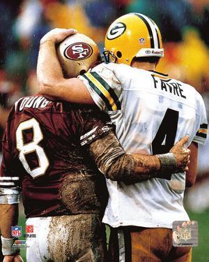 Steve Young & Brett Favre 1998