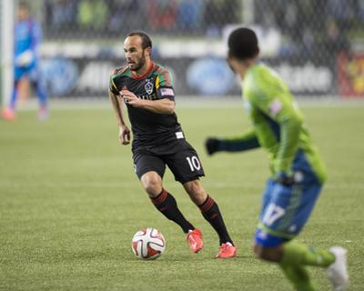 2014 MLS Western Conference Championship: Nov 30, Galaxy vs Sounders - Landon Donovan by Steven Bisig