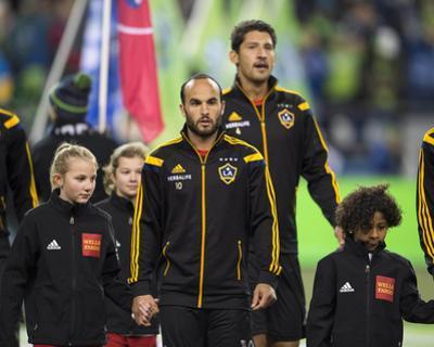 2014 MLS Western Conference Championship: Nov 30, LA Galaxy vs Seattle Sounders - Landon Donovan by Steven Bisig