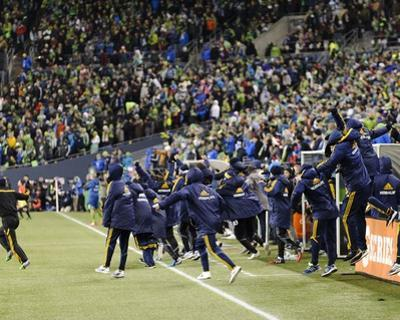 2014 MLS Western Conference Championship: Nov 30, LA Galaxy vs Seattle Sounders by Steven Bisig