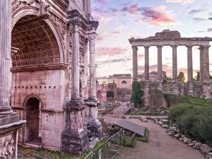 The Roman Forum by Steven Boone