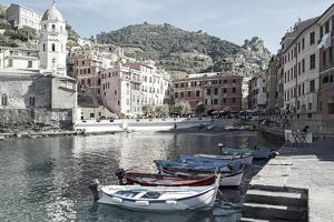 Vernazza Harbor, Cinqueterra, Italy by Steven Boone