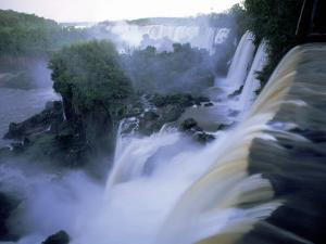 View of Iguazu Falls from Argentine Side by Steven Emery