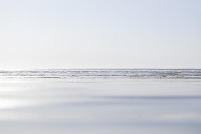 Waves Washing into a Beach by Steven Errico