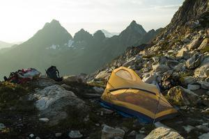 Backpacking in the North Cascades, Washington by Steven Gnam