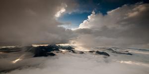 Lewis Range, Waterton-Glacier International Peace Park, Montana by Steven Gnam