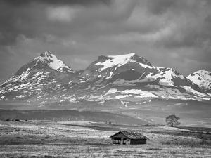Old House Along the Rocky Mountain Front, Montana by Steven Gnam
