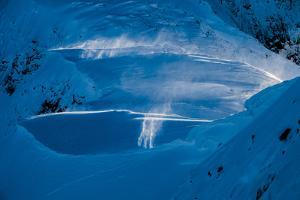 Spindrift High in the North Cascades, Washington by Steven Gnam