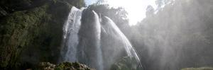Waterfall in the Remote Highlands of Guatemala by Steven Gnam