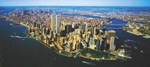 Aerial View of Manhattan by Steven Hans Lindner