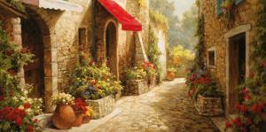 Allee du Village by Steven Harvey