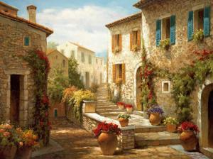 Hilltop Village by Steven Harvey