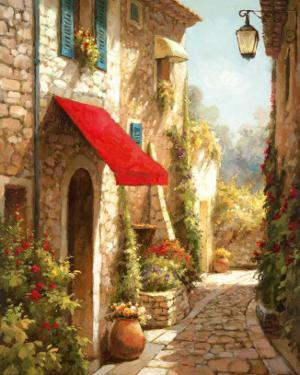 The Red Awning by Steven Harvey