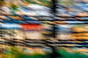 Mondrian's Nightmare by Steven Maxx