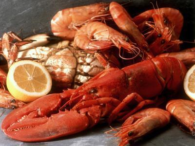 Lobster, Shrimp and Crab