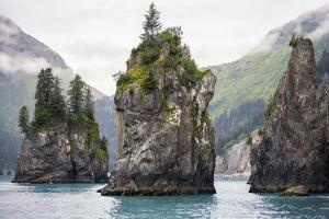 Sea Stacks, Kenai Fjords National Park, Alaska by Steven Schremp