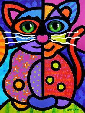 Calico Cat by Steven Scott