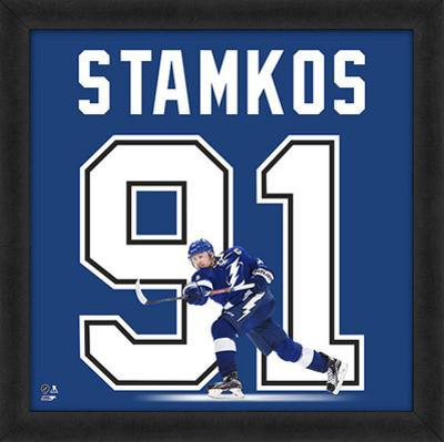 Steven Stamkos, Lightning Framed photographic representation of the player's jersey
