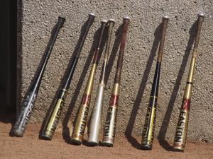 Baseball Bats by Steven Sutton