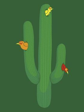 Birds in a Cactus by Steven Wilson