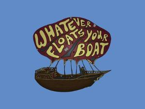 Whatever Floats Your Boat by Steven Wilson