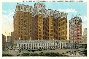 Stevens Hotel, Michigan Boulevard