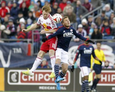 2014 MLS Eastern Conference Championship: Nov 29, Red Bulls vs Revolution - Dax McCarty by Stew Milne
